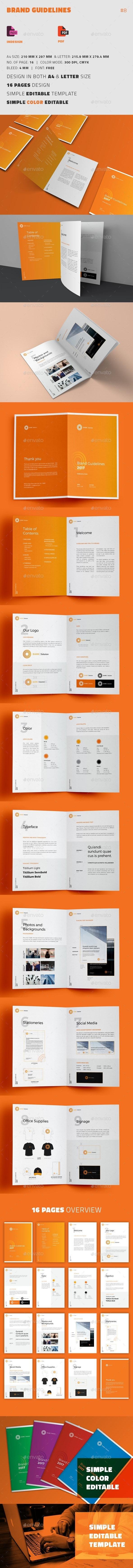 Brand Guidelines - Informational Brochures