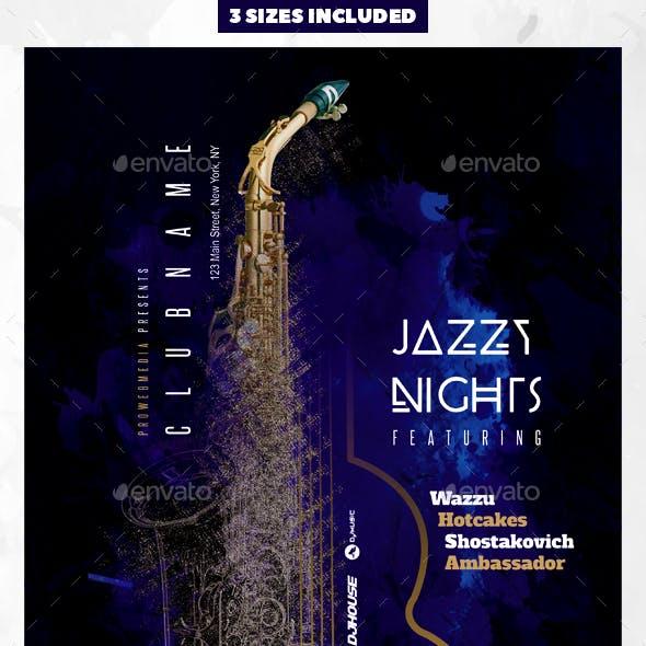 Jazz Nightclub Flyer