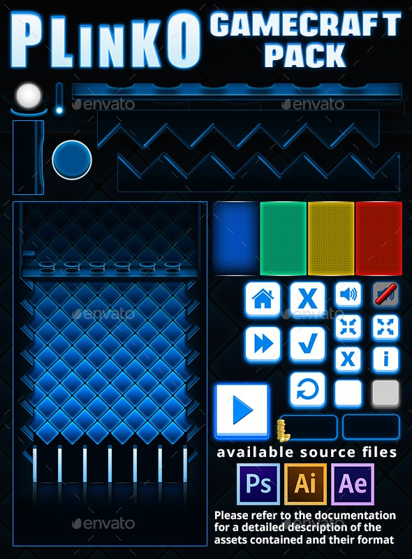 Plinko Casino - Game Assets - Game Kits Game Assets