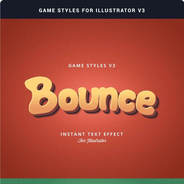 Game Styles for Illustrator V3