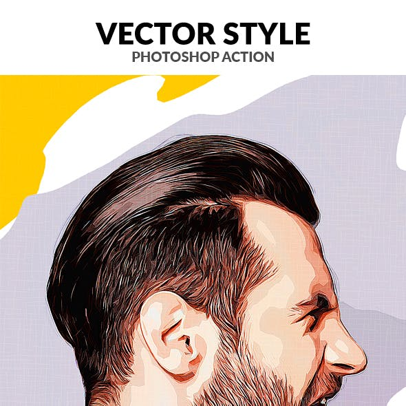 Vector Style Photoshop Action