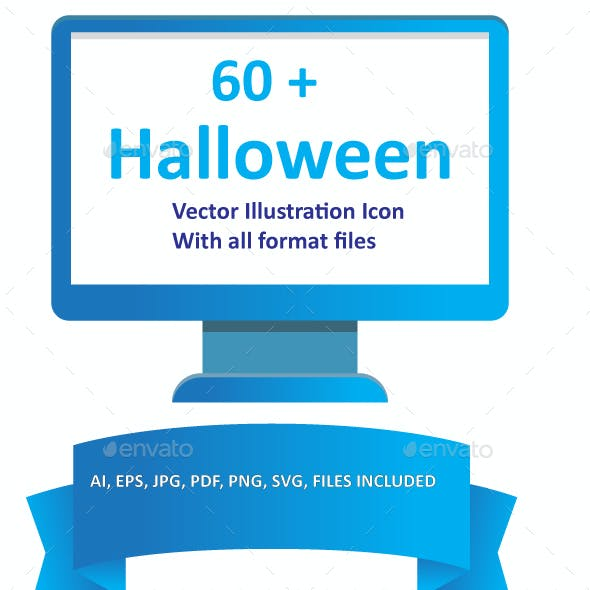 Halloween Color Vector Icons Pack