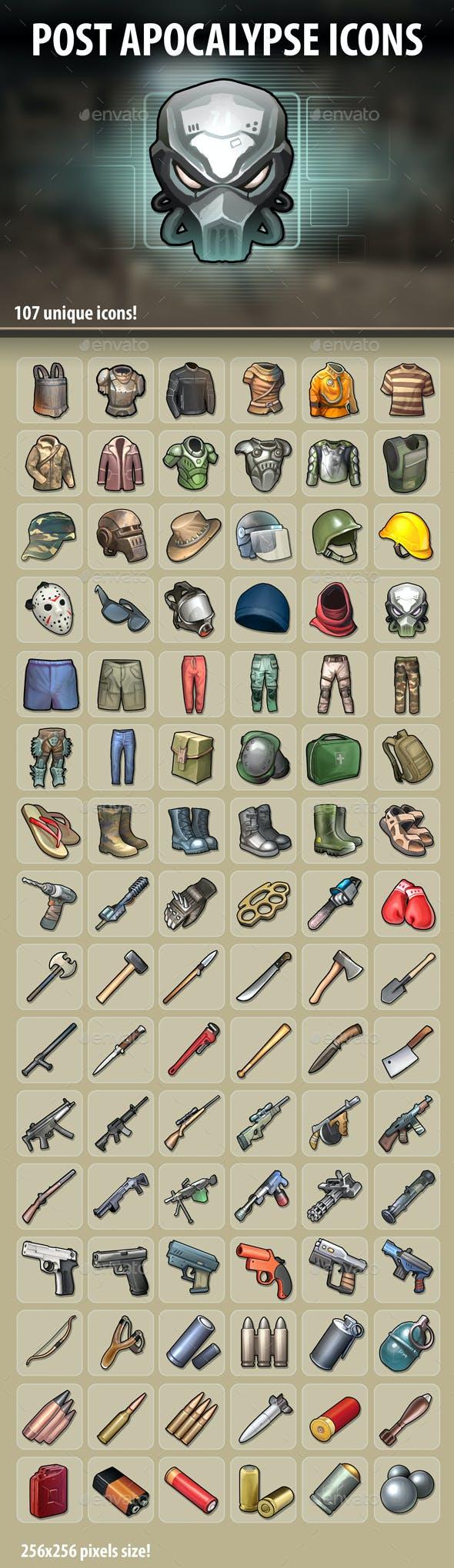 Post Apocalypse Icons