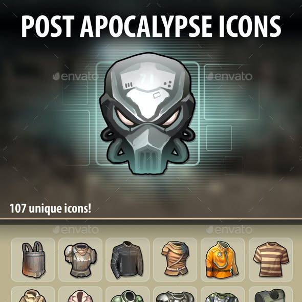 Post Apocalypse Icons