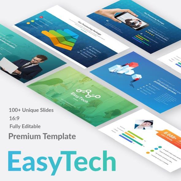 EasyTech Multipurpose Business Google Slide Template