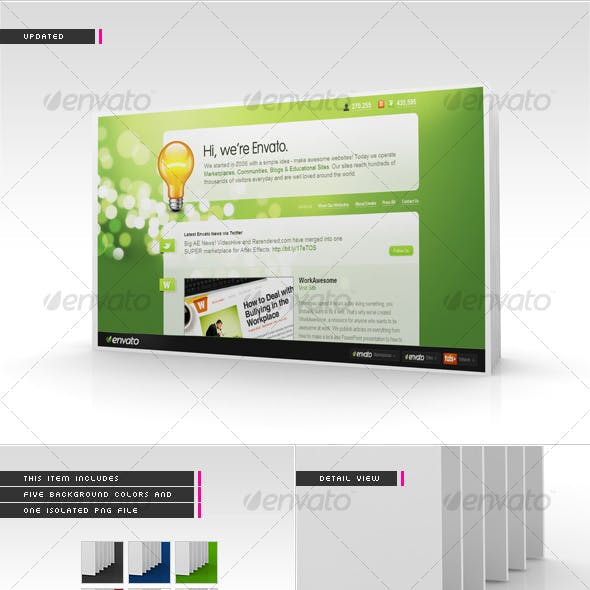 3D Webpage Display