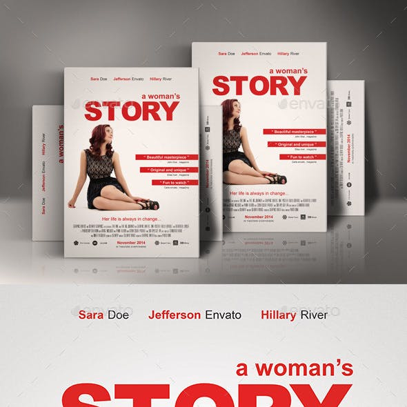 A Womans Story Movie Poster