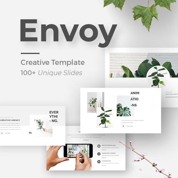 Envoy Minimal Keynote Template