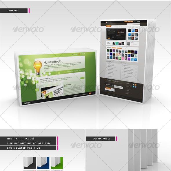 3D Webpage Display (Set One)
