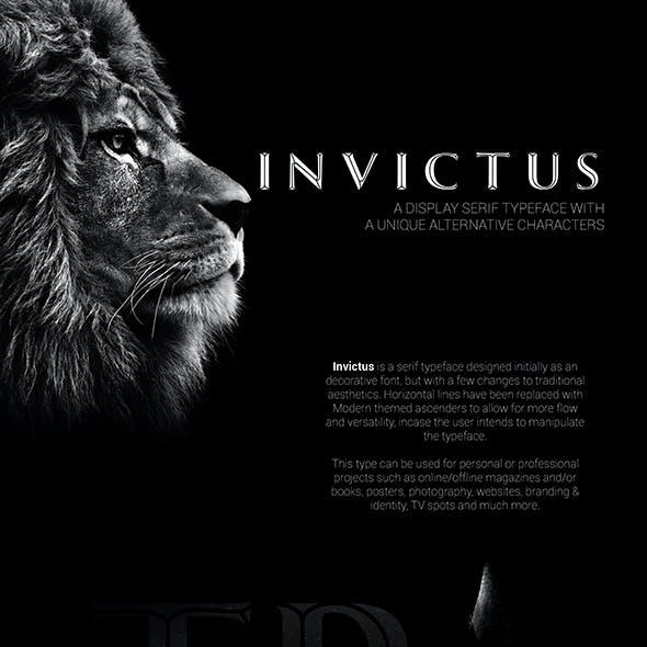 Invictus Serif Typeface