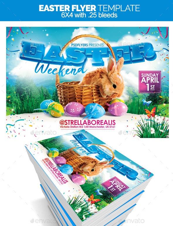 Easter Flyer - Flyers Print Templates