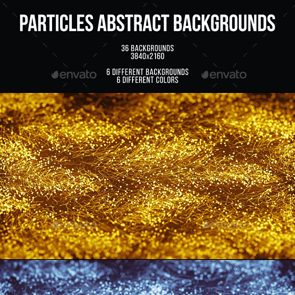 Particles Abstract Backgrounds
