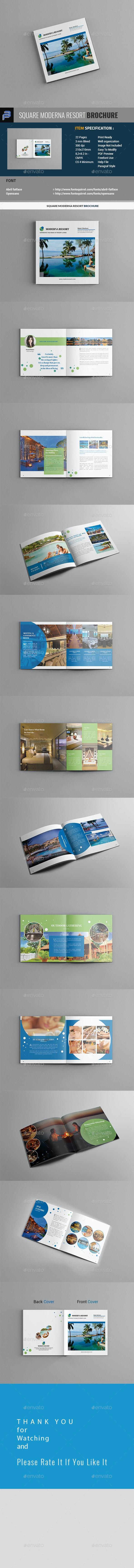 Moderna Resort Brochure - Informational Brochures