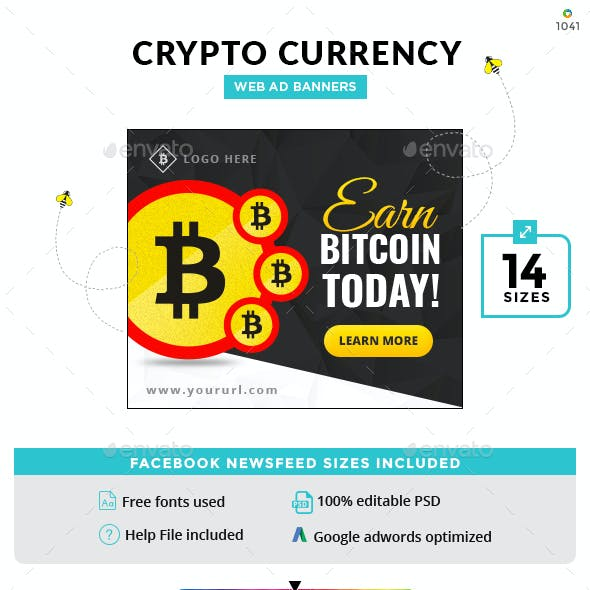 Crypto Currency Banner Set