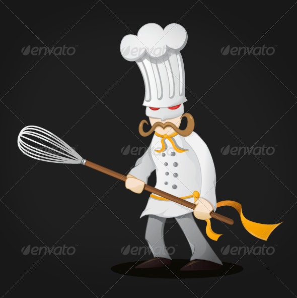 The Kitchen Warrior - People Characters