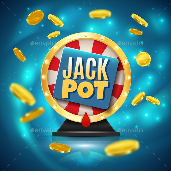 Jackpot Realistic Background