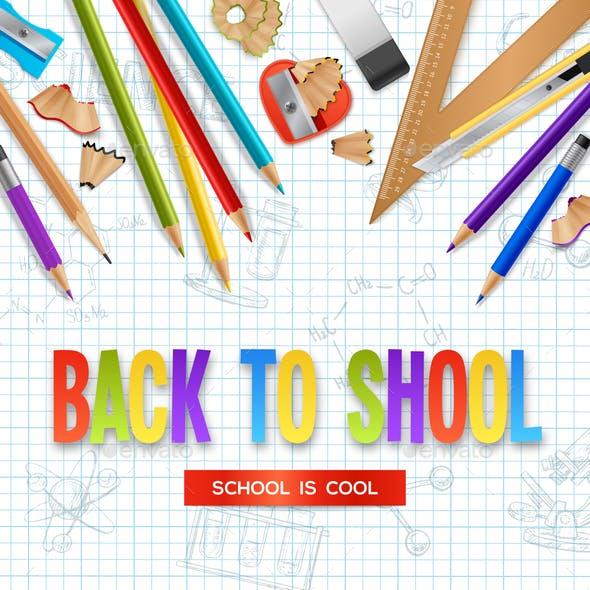 Back To School Design Concept