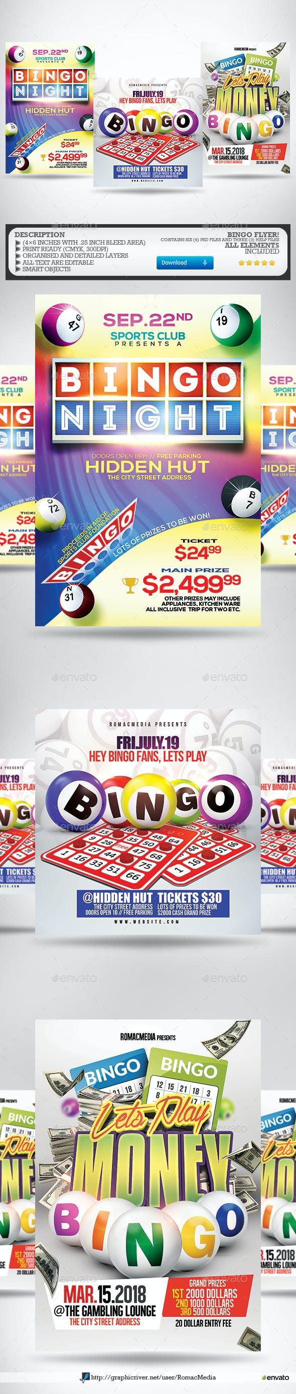 Bingo Flyer Bundle
