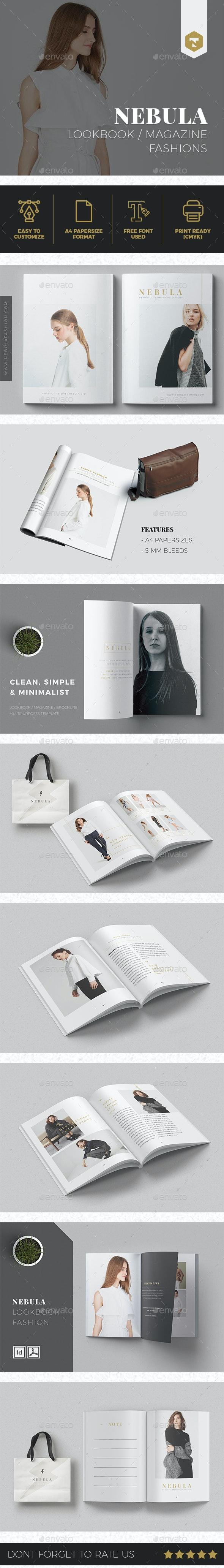 NEBULA | Lookbook/Magazine Fashion - Brochures Print Templates
