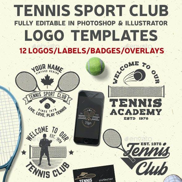 Tennis Club Badges