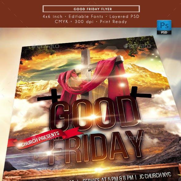 Good Friday Church Flyer