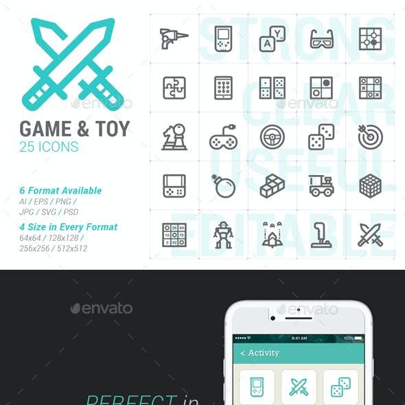 Game & Toy Mini Icon