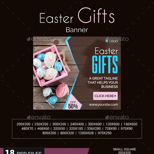 Easter Gifts Banner