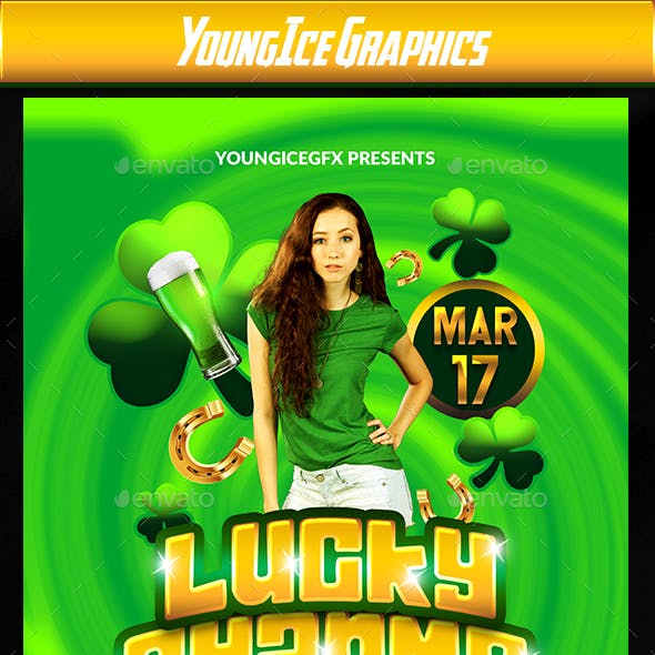 Lucky Charms Flyer Template