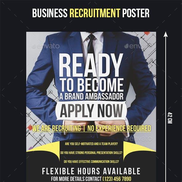 Business Recruitment Flyer