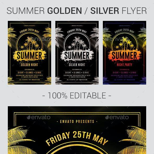 Summer Golden Night Flyer