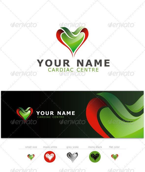 Cardiology and Heart Diagnostic Logo - Symbols Logo Templates