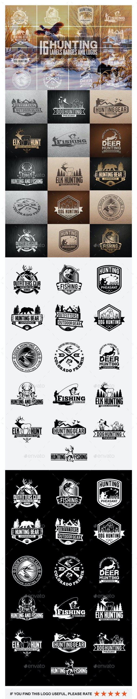 16 Hunting Badges and Logos