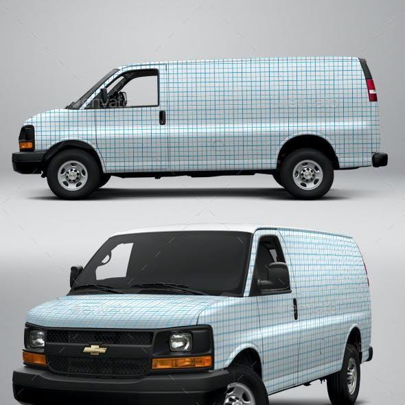 2017 Chevy Express 2500 Cargo Van