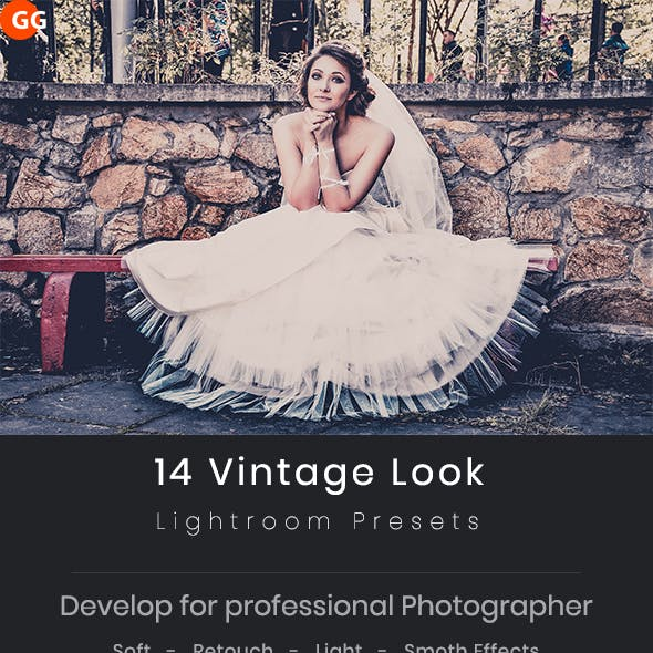 14 Vintage Look Lightroom Preset