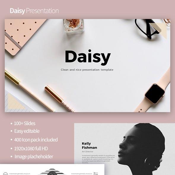 Daisy Powerpoint Template
