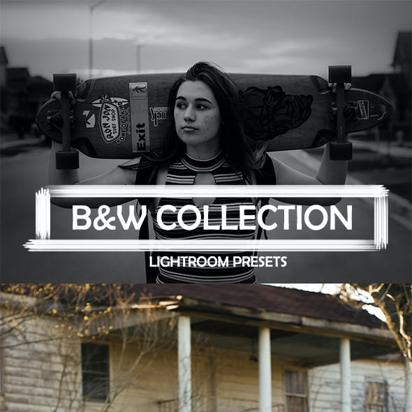 Black And White Lightroom Presets