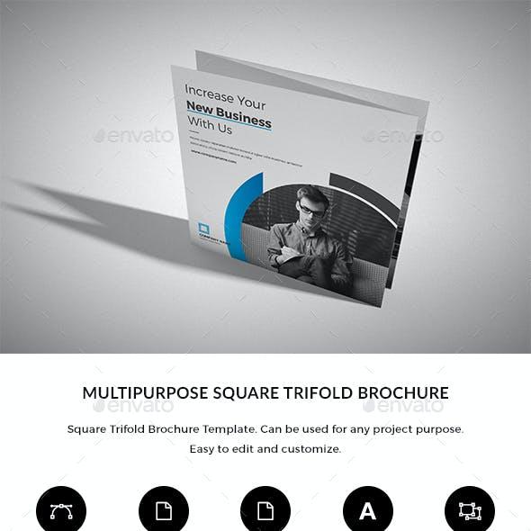 Square Trifold