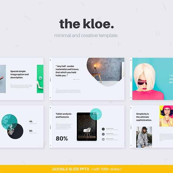 Kloe Google Slide Presentation Template