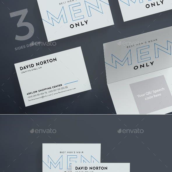Men's Wearhouse Business Card