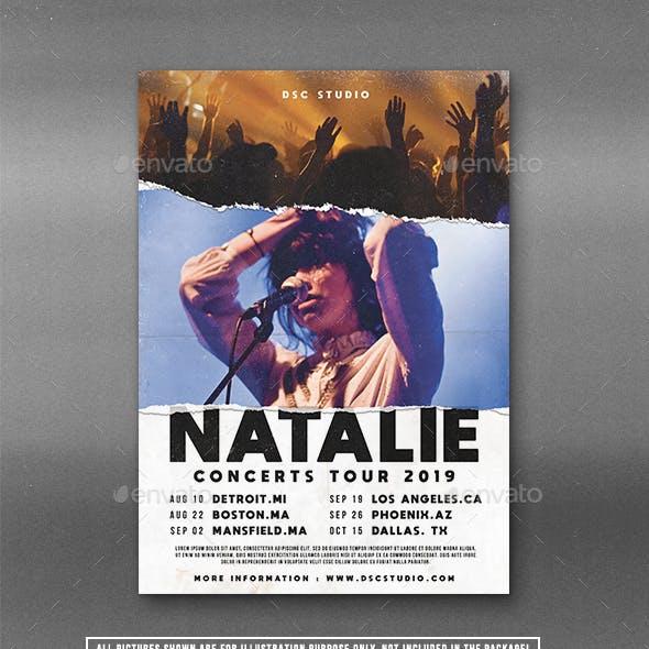 Concert Tour Flyer