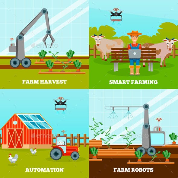 Smart Farming 2x2 Design Concept