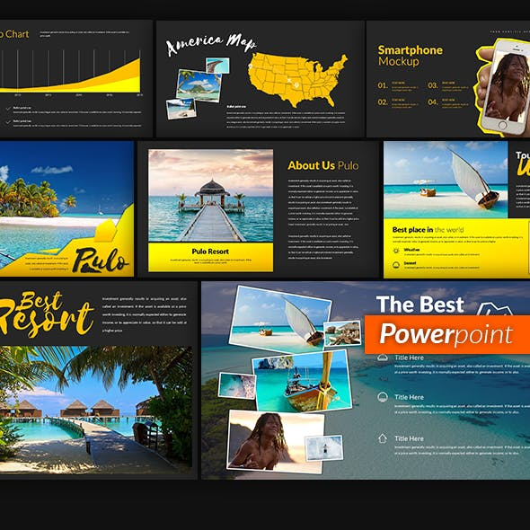 Pulo Powerpoint Template