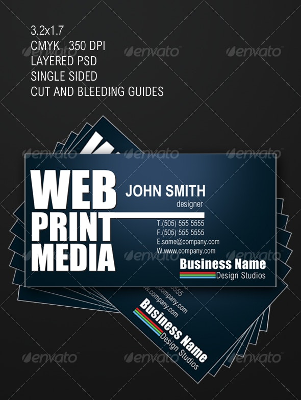 Designers Business Card - Creative Business Cards