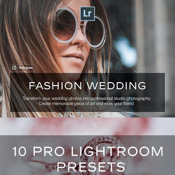 Fashion Wedding Lightroom Presets