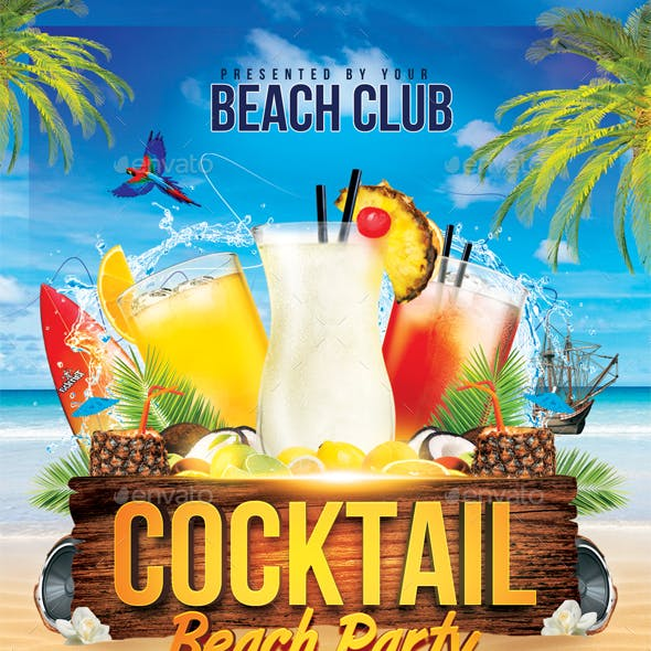 Cocktail Beach Party