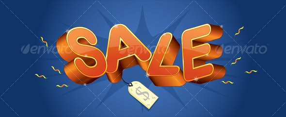Sale Tag - Commercial / Shopping Conceptual