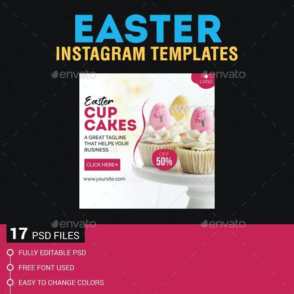 Easter Instagram Templates