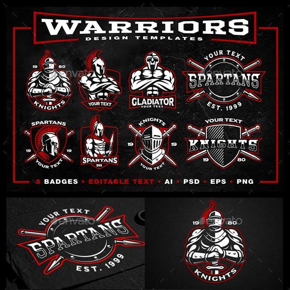 Warriors Badges Pack