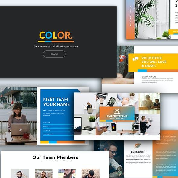 Color Multipurpose Presentation