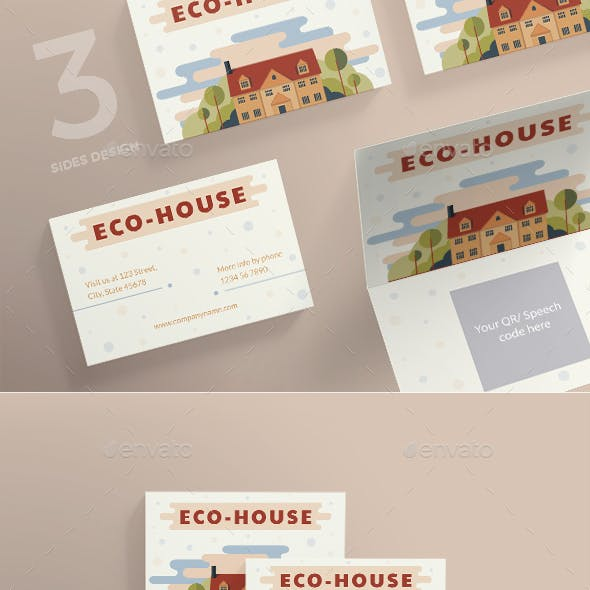 Eco House Business Card
